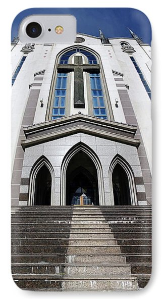 IPhone Case featuring the photograph The Fengshan Presbyterian Church In Taiwan by Yali Shi