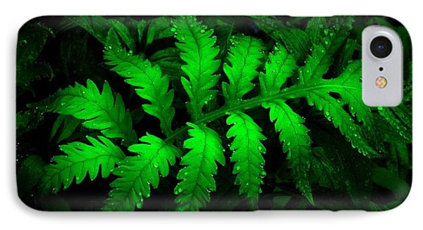 IPhone Case featuring the photograph The Fern by Elfriede Fulda