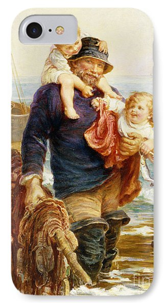 The Ferry IPhone Case by Frederick Morgan