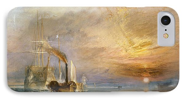 The Fighting Temeraire Tugged To Her Last Berth To Be Broken Up IPhone Case