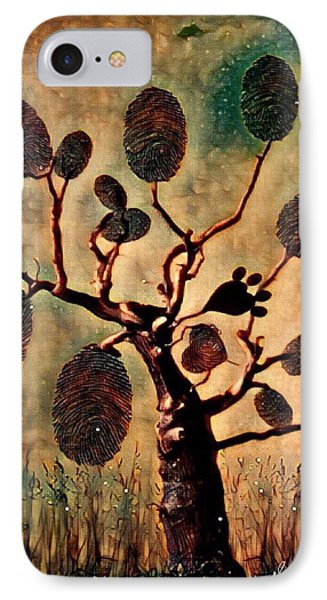 The Fingerprints Of Time IPhone Case