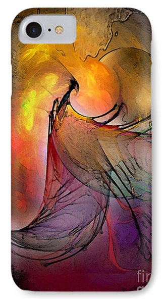The Firedevil IPhone Case by Karin Kuhlmann