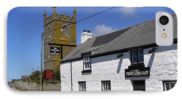 The First And Last Inn In England Phone Case by Terri Waters