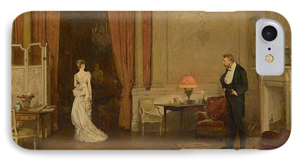 The First Cloud IPhone Case by William Quiller Orchardson