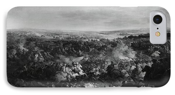 The First Day Of The Battle Of Fribourg, 3 August 1644  IPhone Case