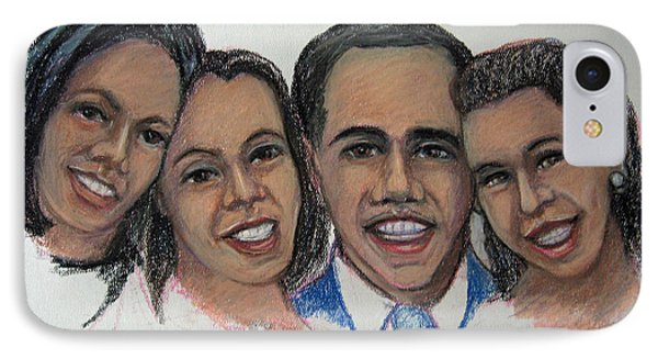 The First Family IPhone Case by John Cummings