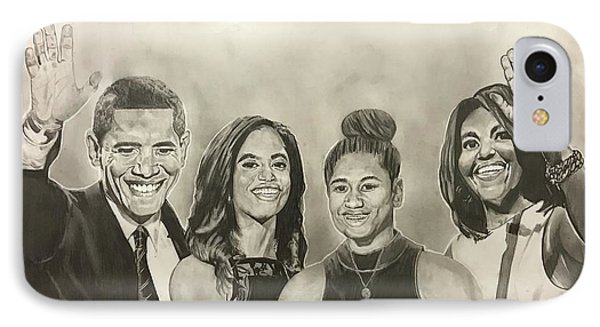 The First Family IPhone Case by Joseph Rutledge
