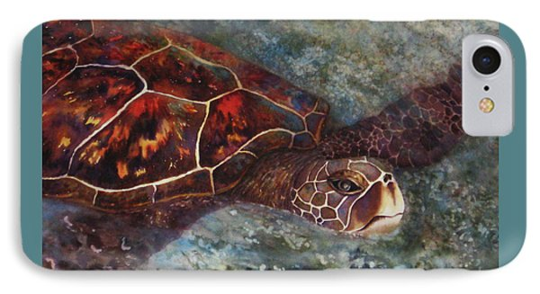 The First Honu Phone Case by Kerri Ligatich