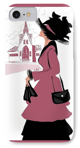 The First Lady IPhone Case by Jay DeVaughn
