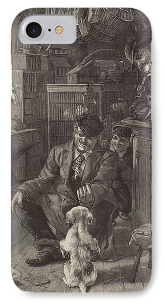 The First Lesson IPhone Case by Louis Fairfax Muckley