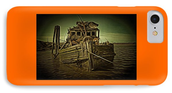 IPhone Case featuring the photograph Mary D. Hume Shipwreak by Thom Zehrfeld