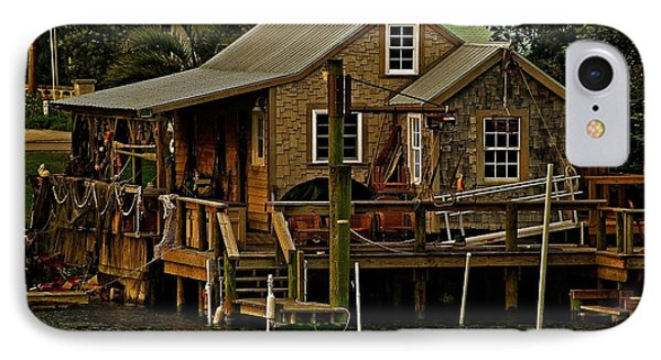 IPhone Case featuring the photograph The Fishing Shack by John Harding