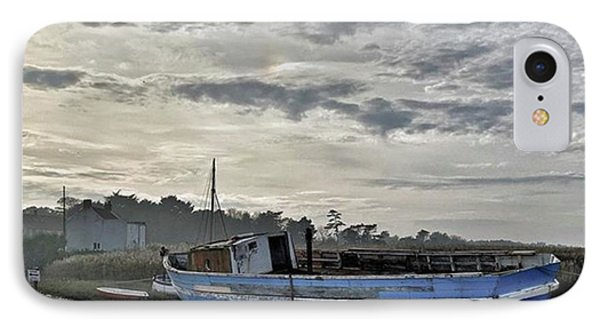 The Fixer-upper, Brancaster Staithe IPhone Case by John Edwards