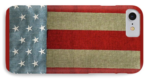 IPhone Case featuring the photograph The Flag by Tom Prendergast
