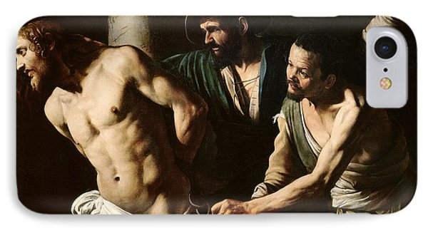 The Flagellation Of Christ Phone Case by Caravaggio