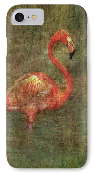 IPhone Case featuring the photograph The Flamingo by Hanny Heim