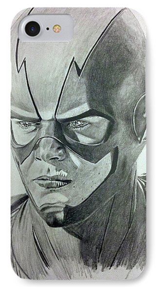The Flash IPhone Case by Michael McKenzie
