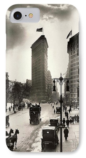 The Flatiron Building IPhone Case by Jon Neidert