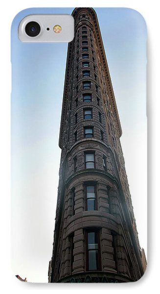 IPhone Case featuring the photograph The Flatiron - Manhattan by Madeline Ellis