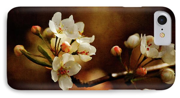 The Fleeting Sweetness Of Spring Phone Case by Lois Bryan