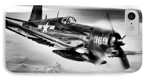 The Flight Home Bw Phone Case by JC Findley
