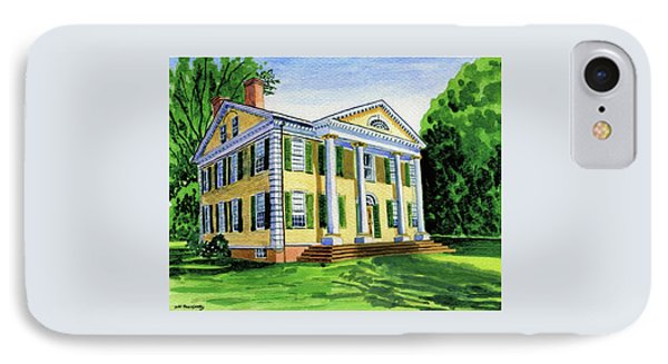 The Florence Griswold House In Old Lyme Ct. IPhone Case