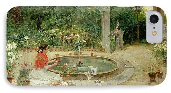 The Flower Garden IPhone Case by Richardo Brugada y Panizo