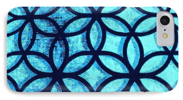 The Flower Of Life IPhone Case by Karl Reid