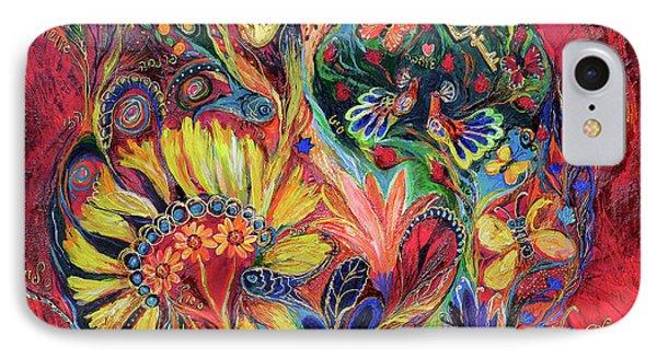 The Flowering Phone Case by Elena Kotliarker