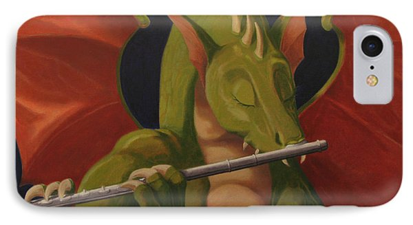 The Flute Player IPhone Case
