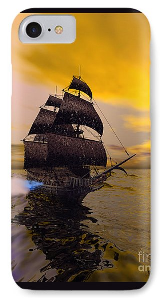 The Flying Dutchman Phone Case by Corey Ford