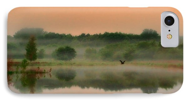 The Fog Of Summer IPhone Case by Elizabeth Winter