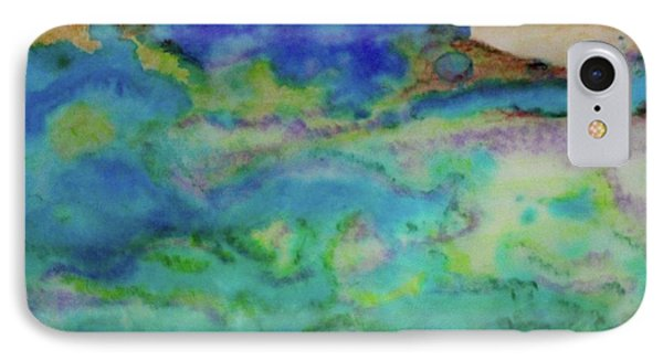 IPhone Case featuring the painting The Fog Rolls In by Kim Nelson