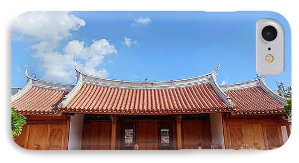 IPhone Case featuring the photograph The Fongyi Imperial Academy In Taiwan by Yali Shi