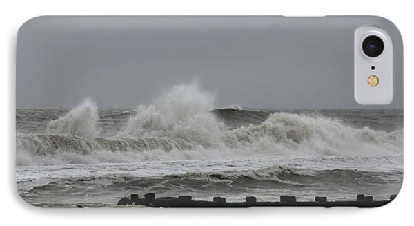 The Force Of Nature - Jersey Shore IPhone Case by Angie Tirado
