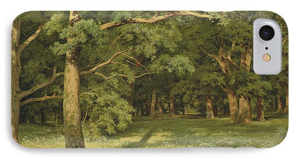 The Forest Clearing IPhone Case by Ivan Shishkin