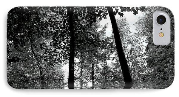 IPhone Case featuring the photograph The Forest by Elfriede Fulda
