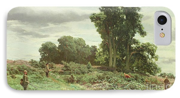 The Forest Of Meiklour, Perthshire IPhone Case by David Farquharson