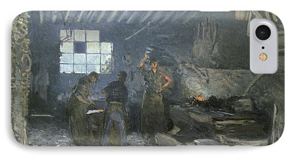 The Forge IPhone Case by Alfred Sisley