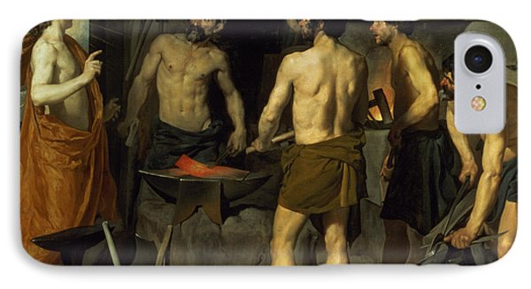 The Forge Of Vulcan IPhone Case by Diego Velazquez