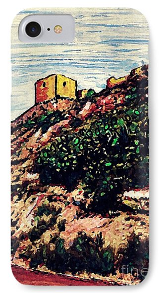 The Fort In Lorca 2 IPhone Case by Sarah Loft