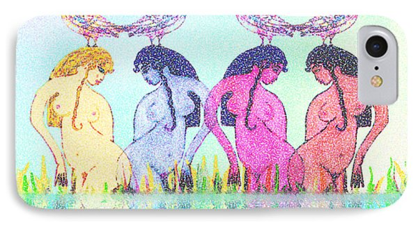 The Four Daughters Of Eve  -aka-  Four Rivers IPhone Case