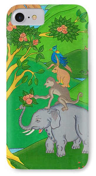 The Four Harmonious Friends IPhone Case by Berty Sieverding