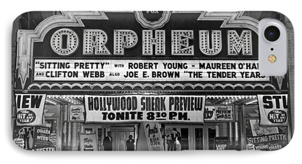 The Fox Orpheum Theater IPhone Case by Underwood Archives