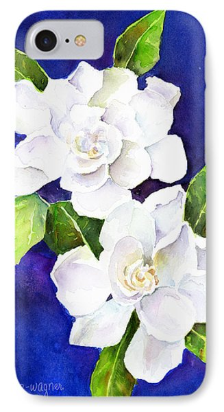 The Fragrant Gardenia Phone Case by Arline Wagner
