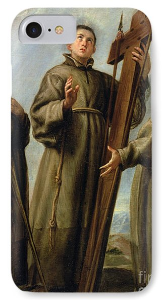 The Franciscan Martyrs In Japan Phone Case by Don Juan Carreno de Miranda