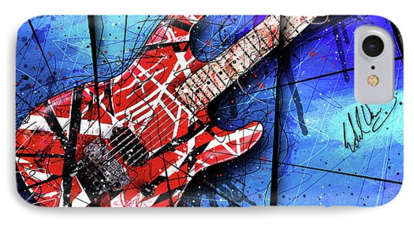 The Frankenstrat Vii Cropped IPhone 7 Case by Gary Bodnar