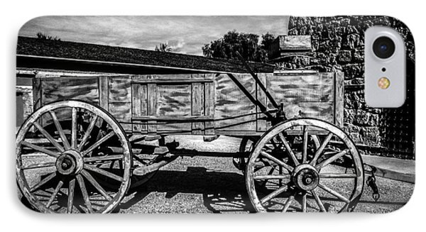 The Freight Wagon IPhone Case by Robert Bales