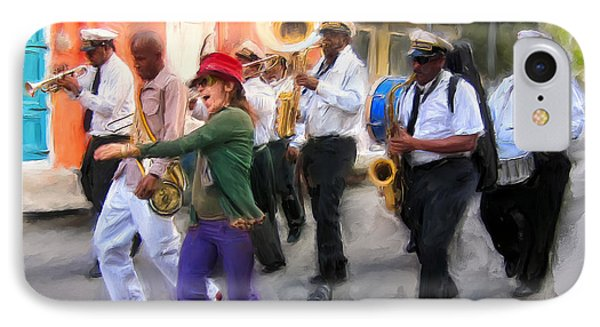 The French Quarter Shuffle IPhone Case