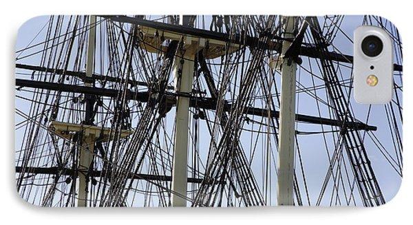 The Friendship Of Salem Tall Ship  In Salem Massachusetts Usa Phone Case by Erin Paul Donovan